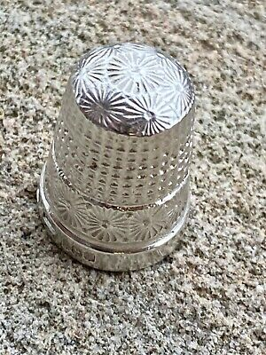 Sterling Silver Thimble - Henry Griffith & Sons Ltd - 1911