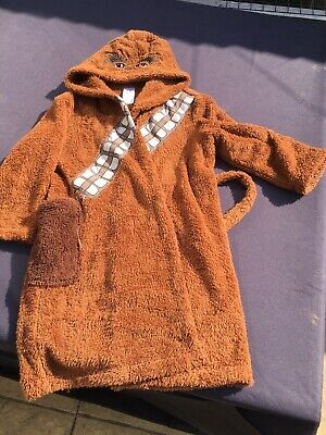 Chewbacca Dressing Gown Size 9-10
