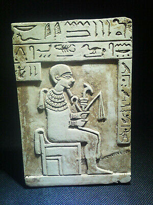 EGYPTIAN ANTIQUES ANTIQUITY Stela Stele Stelae 1549-1337 BC