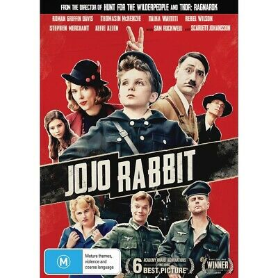 JOJO RABBIT-DVD-Region 4-New And Sealed
