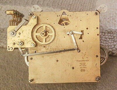 Antique Franz Hermle Clock Movement - Westminster Chime - Sold For Parts