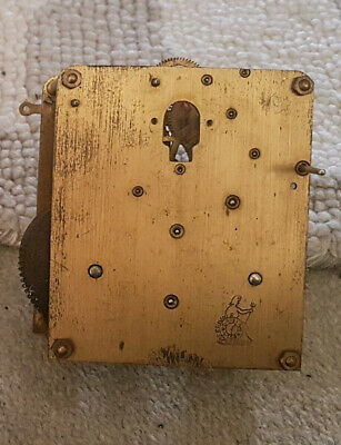 Antique Perivale 8 Day Clock Movement - Sold For Parts