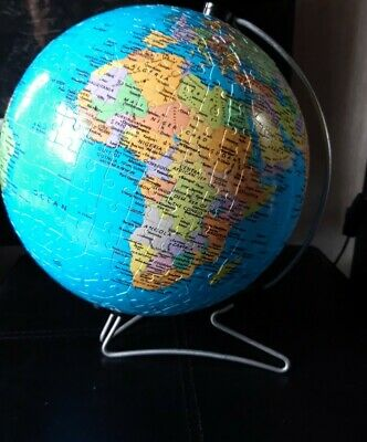 Ravensburger 3D Globe Jigsaw Puzzle With Stand 540 Pieces - rotates