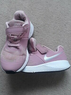 Size 13 Pink Nike Run Girls Trainers