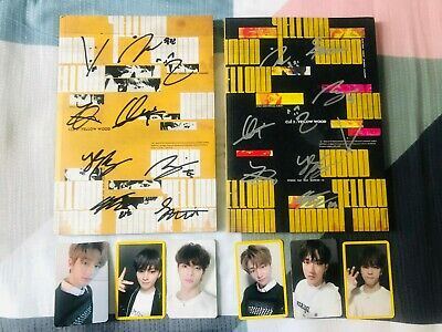 STRAY KIDS AUTOGRAPH SIGNED ALBUM Cle 2:Yellow Wood