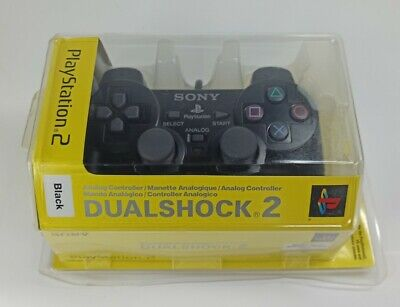 New Official Sony DualShock 2 PlayStation PS2 Controller Gamepad Sealed Retro