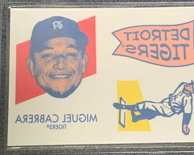 2020 Topps Heritage '71 Topps Baseball Tattoos #25 Miguel Cabrera TIGERS