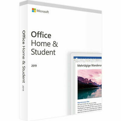 Office 2019 Home and Business Product Key Activation License ✅  for Windows.