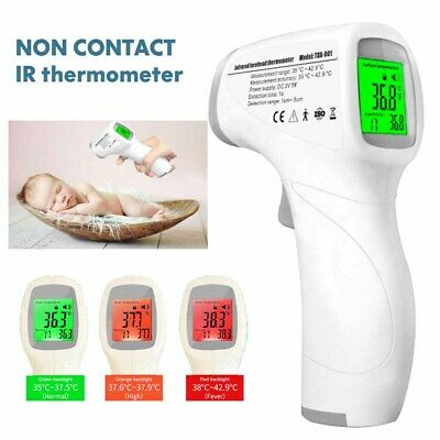 IR Infrared Digital Forehead Thermometer Non-Contact Baby/Adult Body Thermometer