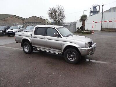 Immaculate Mitsubishi L200 Warrior Double Cab Pick Up Truck 4X4 4Wd No Vat!