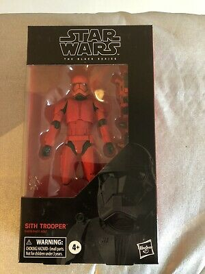 """Star Wars The Black Series Sith Trooper Toy 6"""" Scale The Rise of Skywalker New"""