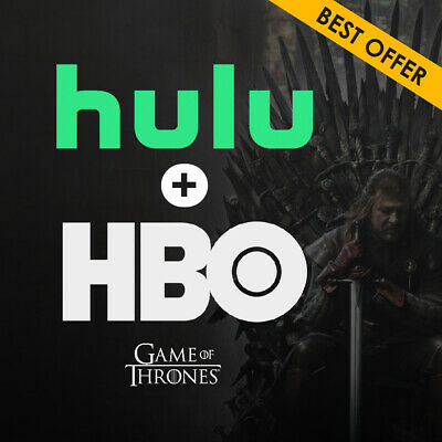 🔥Hulu (No Ads) + HBO ☑Premium Account Subscription ☑1 Year Access & Warranty🔥
