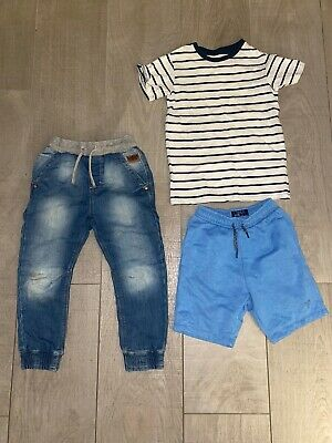 3x Next Boys T-shirt/shorts/Jeans Aged 6 Years Old