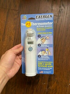 Exergen Temporal Artery Baby Thermometer - TAT-2000C New US Seller