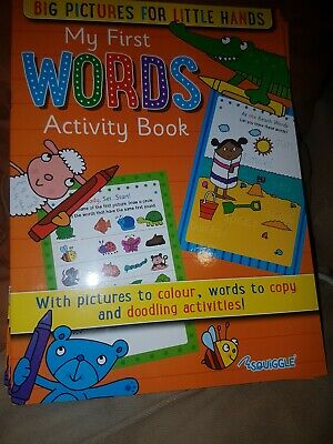 Kids A4 Learn To Write My First Words Activity Book FREE PP