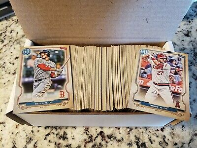 2020 Topps Gypsy Queen Base 1-150 .................. You Pick Complete Your Set