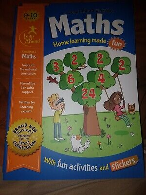 Leap Ahead Workbook __ Maths 9-10 Years __ Brand New __ Freepost Uk