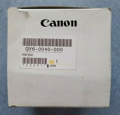 New Sealed Genuine Canon Qy6-0040 Print Head OEM BJ F890 F890PD S820 S820D