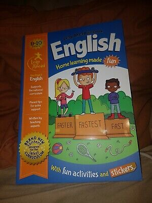 Leap Ahead Workbook __ English 9-10 Years __ Brand New __ Freepost Uk
