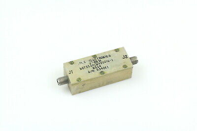 RLC BANDPASS FILTER F-6811 0.5-3.5GHz