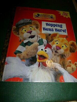 Vintage  A Little Golden Book , Between The Lions , Hopping Hens Here