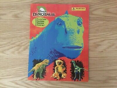DISNEY'S DINOSAUR STICKER ALBUM COMPLETE WITH ALL STICKERS (Inserted) By PANINI