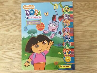 DORA THE EXPLORER EMPTY STICKER ALBUM By PANINI - This Album Is In FRENCH