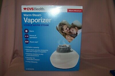CVS WARM STEAM Vaporizer Humidifier Model 2100NCVS 1.0