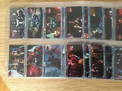 BATMAN & ROBIN WIDE VISION TRADING CARDS COMPLETE SET By SKYBOX Issued YEAR 1997