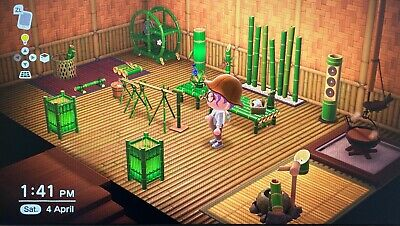 animal crossing Bamboo furniture set for sale