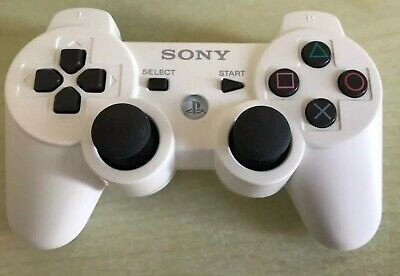 PS3 - Original DualShock 3 Wireless Controller weiß Sony. Blitzversand