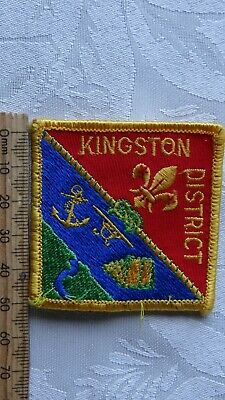 1 x SCOUTS KINGSTON DISTRICT VICTORIA AUSTRALIA COLLECTABLE BADGE/PATCH
