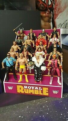 wwe//wwf custom made crates ideal props for backstage areas for wrestling figures