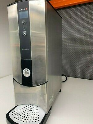 MARCO HOT WATER BOILER LED DISPLAY Programmable Tea Urn MAINS WATER REQUIRED