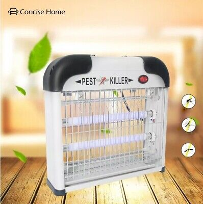 Concise Home Electric Fly Mosquitoe Insect Killer Pest Control Bug Zapper 12W
