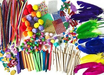 Art & Craft Kit Bundle Kids Activities Supplies Assorted Pack over 500pcs Child
