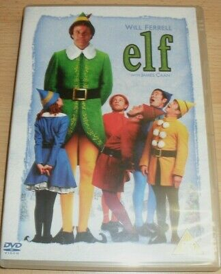 Elf 2 Disc Set Dvd Mint 2005 Comedy Will Ferrell & James Caan