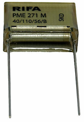 25 .033uf 33nf 275Vac X2 METALLIZED PAPER CAPACITORS PME285MB5330M RIFA QTY
