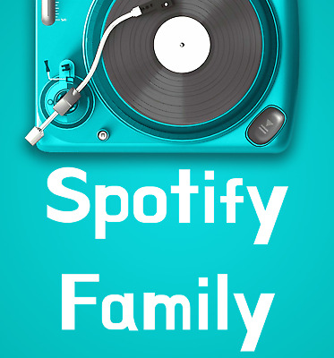 Spotify familyPlan premium 1 months private ORIGINALE FAST DELIVERY Music