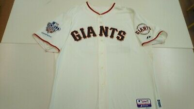 Authentic 2010 WS SAN FRANCISCO GIANTS MLB baseball jersey. #28 POSEY 52 New.