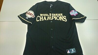 Authentic 2012 WS SAN FRANCISCO GIANTS MLB baseball jersey. WS champs. L. New.