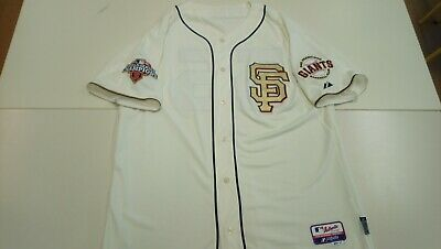 Authentic 2012 GOLD WS SAN FRANCISCO GIANTS MLB baseball jersey. #55 LINCECUM