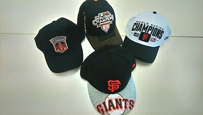 Authentic collection 4 caps/headwear SAN FRANCISCO GIANTS MLB baseball. New.