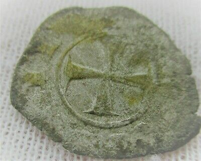 Unresearched Ancient Byzantine Silver Crusaders Coin