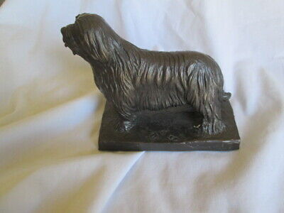 English Sheepdog Figure Statue Heritage Fine Arts LTD Cambridge Designs Signed