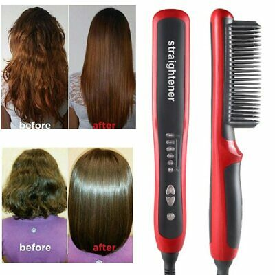 Hair Straight Styler Multifunctional Heat Hair Care Electric Curler Women Men