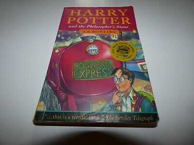 Harry Potter And The Philosopher's Stone, Rare Book.