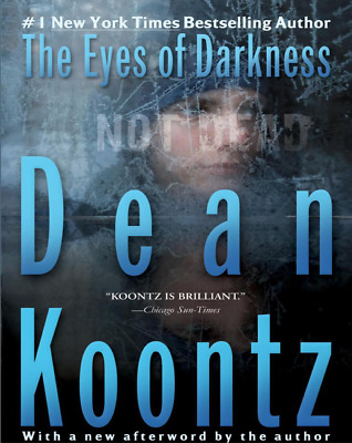 The Eyes Of Darkness By Dean Koontz 1981✅VIRUS EPIDEMIC ✅  ePub  - FAST LINK