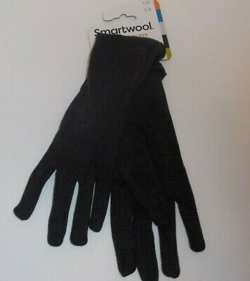 Smartwool Merino 250 Glove Charcoal Womens Large Gloves Touchscreen Compatible