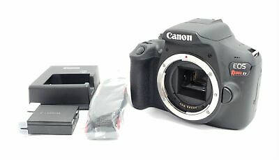 Canon EOS Rebel T7 24.1MP DSLR Camera Body Black